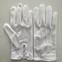 Guantes de protección de mano de algodón de ingeniería de seguridad