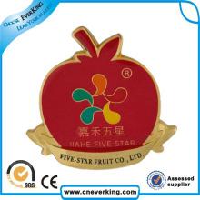 Pin de lapela de liga de zinco personalizado de alta qualidade para brinde promocional