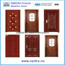 Профессиональное порошковое покрытие для защитных дверей
