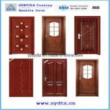 Профессиональное покрытие порошка для двери безопасности