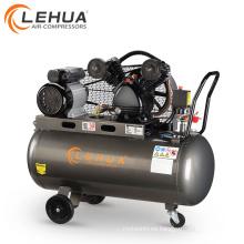100L 8bar 2hp Cinturón impulsado por correa Heavy Duty compresor de aire precios de la máquina