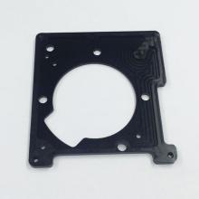 Support de support de lentille en aluminium de qualité d'usinage de précision