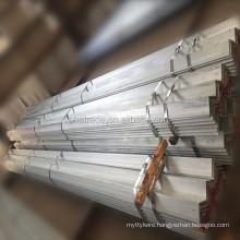 Galvanized equal double angle iron steel bar