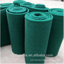 Green color Silicon carbide abrasive scouring pad