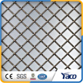 Diamond Hole Size Curtain Wall Decorative Metal Wire Mesh For Cabinets