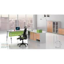 Современный офисный администраторский стол со стальной рамой (HF-BSA05)