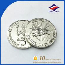 Moneda de plata en blanco vendedora caliente de la venta al por mayor de la moneda de plata
