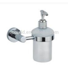 2015 venta caliente baño dispensador de jabón de acero inoxidable titular CX-047