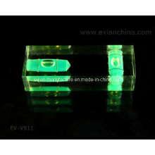 Burbuja de nivel de bloque de acrílico de 2 ejes (EV-V911)