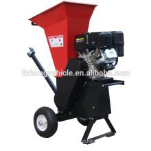Vendemos direto de fábrica 6.5 HP lascar capacidade 6.5 HP de 3 polegadas de madeira chipper do shredder, raspadora jardim triturador, triturador triturador