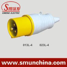 110V 16A/32A 3pin Industrial Plug Yellow IP44 2p+E