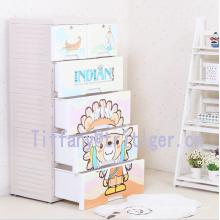 Organizador plástico del almacenamiento del cajón del gabinete de múltiples capas de los PP de la categoría alimenticia