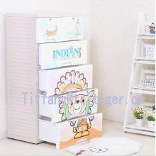 Food Grade PP Multi-layer cabinet plastic drawer storage organizer