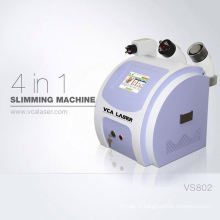 Capsule mince professionnelle et machine de serrage de peau de rf