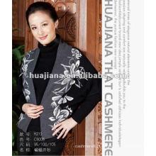 Casacos de camisola feminina de moda / capa de caxemira
