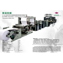 Automatic High Speed Flexo School Exercise Book Manufacture Line