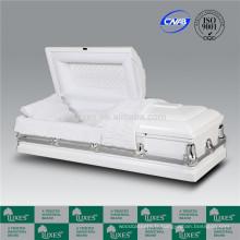 LUXES cercueils de bois blanc _ Chine cercueils fabrique