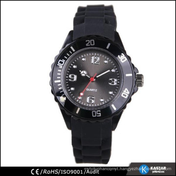 quartz wrist men watch silicone band, watch China