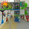 Estrutura de equipamento de recreio interior para crianças