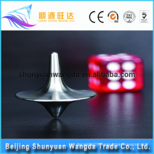 China factory supply customzied popular toy parts metal spinning top toy