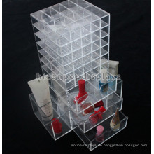 Odm Or Oem Beauty Produkte Einzelhandel Shop Revolving Clear Acryl Aufbewahrung Tabletop Display Fall