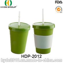 Taza de café de fibra de bambú biodegradable FDA / LFGB (HDP-2012)