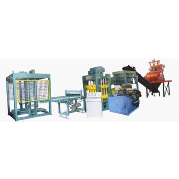 Automatic Hydraulic Burning-Free Block Making Machine (Qt4-15)