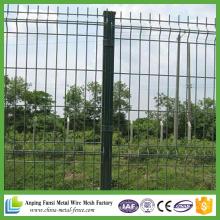 China fornecedor em pó revestido curvas de arame de arame jardim de cercas