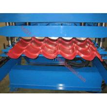 Telha da etapa do arco da alta velocidade que dá forma à máquina