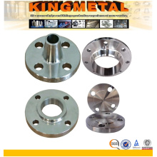 Tubulação de aço inoxidável ASTM A182 316 forjada Flange