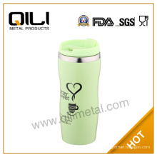 400ml auto cup with push lid