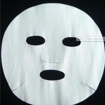 Tela no tejida de algodón Spunlace para máscara facial