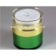 15ML 30ML 50ML korea style acrylic airless cream jar ,special pump airless acrylic jar,cosmetic acrylic cream jar for skin care