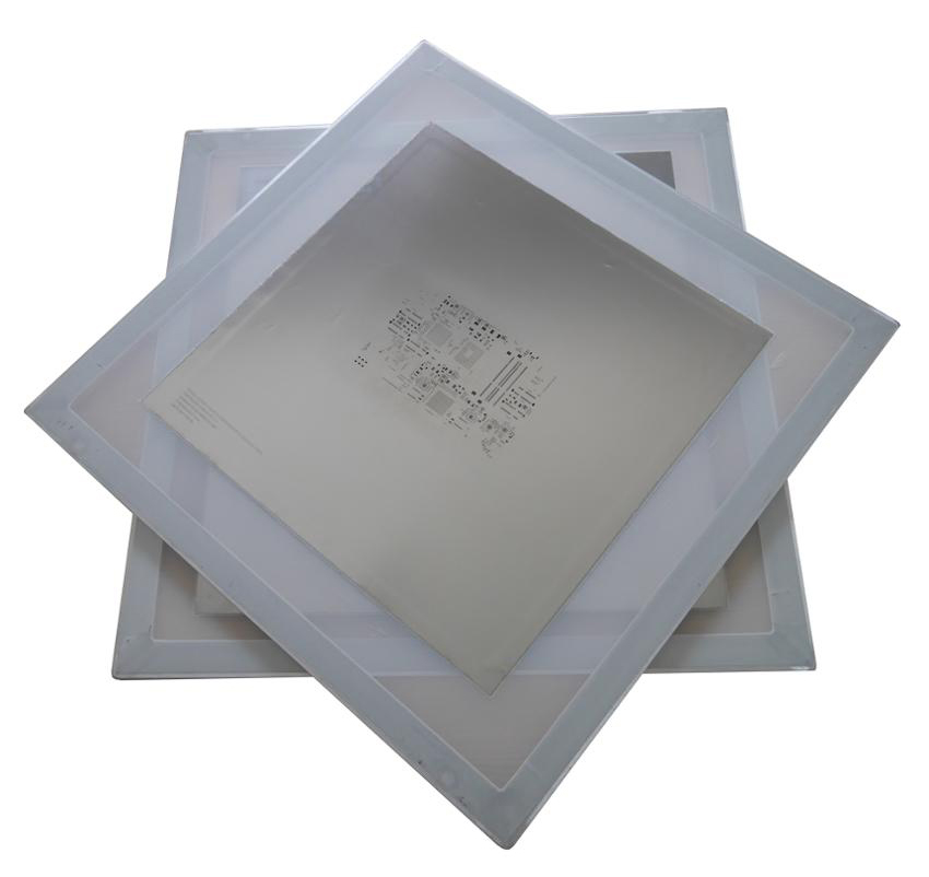 SMT Aluminum Stencil Frames with Mesh and Stainless Steel