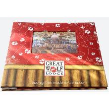 Impressão personalizada 12 x 12 álbuns de álbuns com janelas de fotos