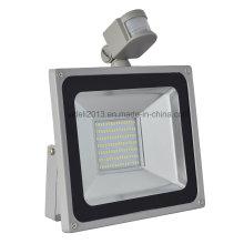 En gros 100W PIR Motion Sensor SMD LED Floodlight extérieur imperméable à l'eau Spot Spot