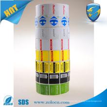 Tienda de los cosméticos etiqueta anti rf del hurto 8.2mhz etiqueta del eas rf de la impresión