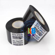 10 pçs / lote preto quente selo fita FC2 25 mm x 100 m para máquina de impressora de codificador