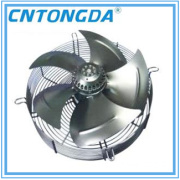 250mm-800mm Axial Fan with External Rotor Motor