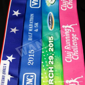 Acollador colorido de encargo de la medalla de los deportes (RB-01-1)