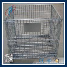 Système industriel galvanisé cage de palettes en acier à vendre