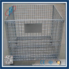 Industrial Galvanized System Steel Pallet Cage For Sale