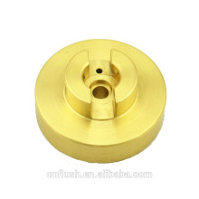 Conception faite sur commande de haute qualité et de précision cnc usinant des pièces tournantes en métal