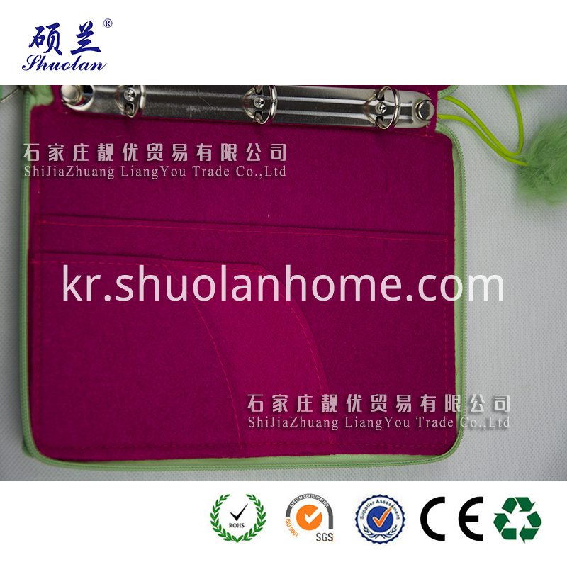 Hot Selling Green Notebook Cover