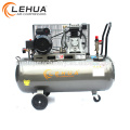 Quality assured belt driven truck air compressor with 7.5kw electric motor