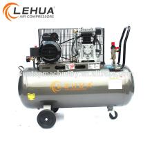 A qualidade assegurou o compressor de ar conduzido correia do caminhão com o motor 7.5kw elétrico