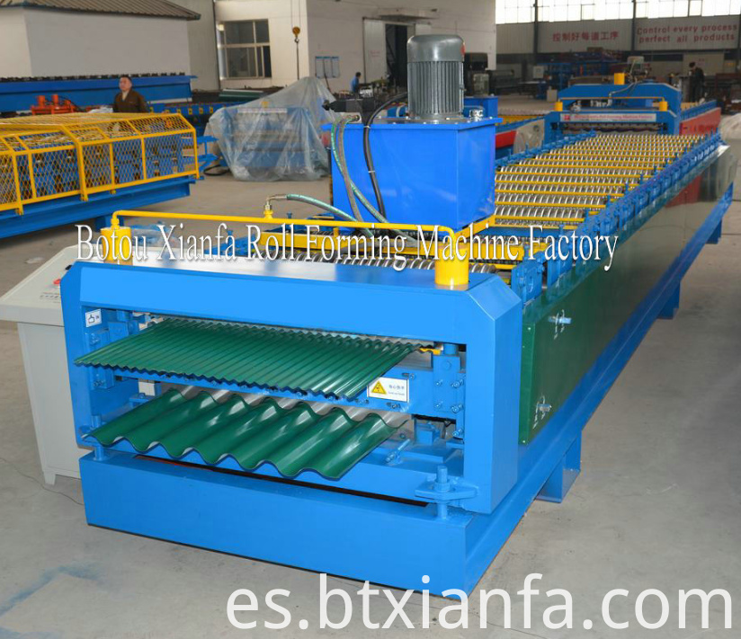 Double Layer Forming Machine For Chile