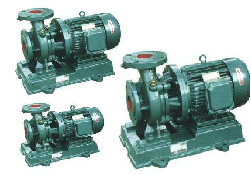 ISW type variable frequency horizontal pipeline centrifugal pump Horizontal single stage single suction centrifugal pump 4