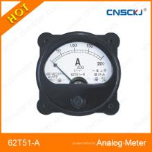 2014 Горячий продукт AC Ammeter Panel Meter со стеклянной крышкой
