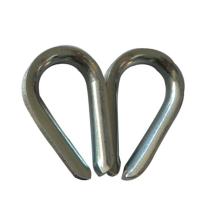 Dedal chapeado zinco do RUÍDO 6899B do dedal da corda de fio
